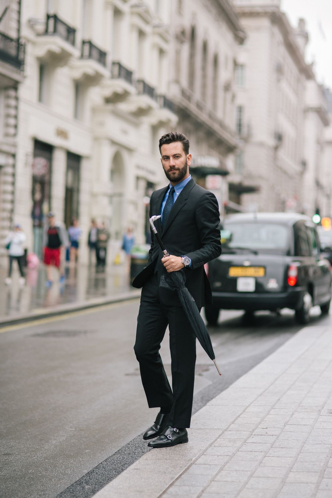 double monk strap shoes outfit
